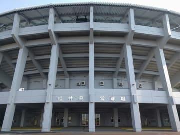 福井県営球場=福井県福井市