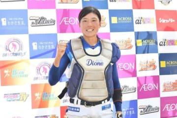 愛知ディオーネ・寺部歩美【写真提供:日本女子プロ野球リーグ】