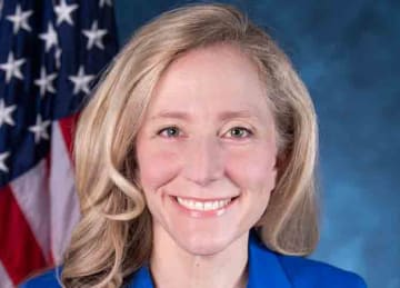 U.S. Democratic Rep. Abigail Spanberger of Virginia (U.S. House of Representatives, Wikipedia)