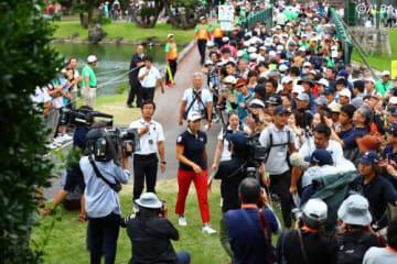 フィーバーを好機と捉え、ゴルフ人気を広める努力を(撮影:村上航)