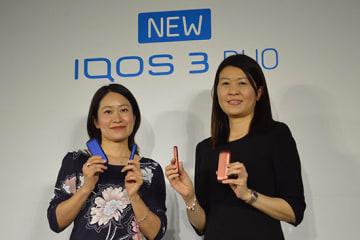 9月25日に発売した「IQOS 3 DUO」。税込価格は9980円で、増税後も据え置く