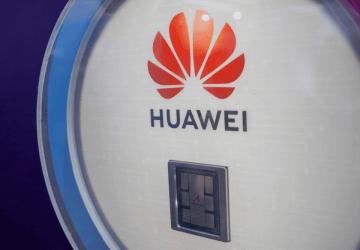 Huawei's Ascend 910 processor. (Image credit: TechNode/Shi Jiayi)