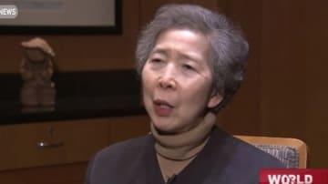 Annie Wu. File photo: CGTN screenshot.