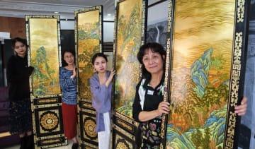 伝承される漆器芸術「金漆象眼」の絶技 北京市