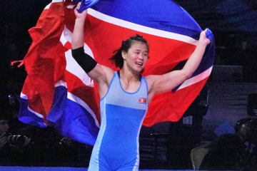 北朝鮮女子から初の世界チャンピオンとなったパク・ヨンミ