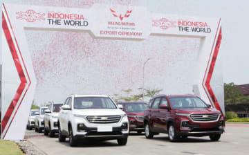 SGMWがインドネシアでOEM(相手先ブランドによる生産)したシボレーのキャプティバ(SGMW提供)