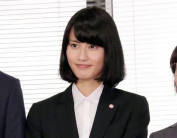 連続ドラマ「同期のサクラ」の会見に登場した橋本愛さん