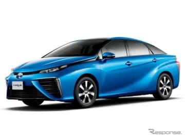 トヨタの燃料電池自動車、ミライ