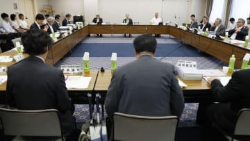 厚労省が開いた地域医療構想に関する会合=26日午後、東京都港区