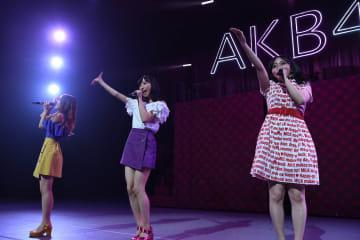 AKB48[ライブレポート]小栗有以「髪を切って、初めてのコンサートです!」