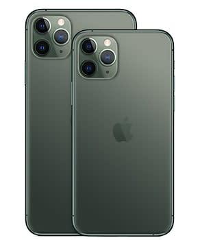 iPhone 11 Pro MaxとiPhone 11 Pro