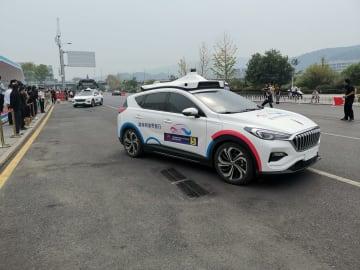 百度の自動運転タクシー、公道での実証実験開始 湖南省長沙市で