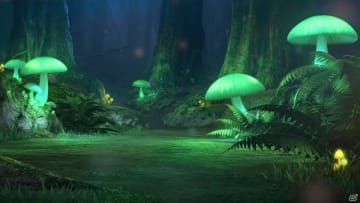 ルミナスメイズの森は、ガラル地方の奥深くにある、光るキノコが特徴的な森だ。