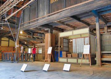 川崎市の日本民家園で2日間限定体験 「回り舞台をまわそう!」