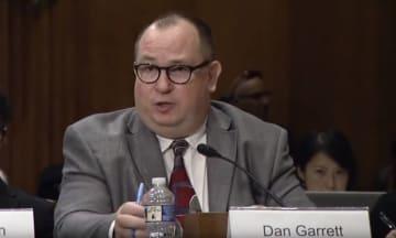 Dan Garrett. Photo: CECC screenshot.