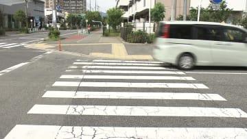 神戸市垂水区で死亡事故があった交差点