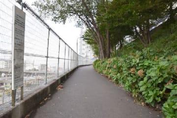 映画『天気の子』の「聖地」とされている場所(2019年9月/弁護士ドットコム撮影/東京都)