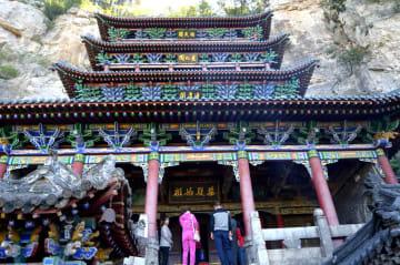 古代中国の女神を祭る「女媧祭典」開幕 河北省渉県