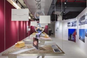上海の都市空間を表現するアート展開催