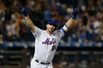 本塁打王を獲得したメッツのピート・アロンソ【写真:Getty Images】