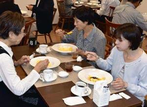 県食材の料理が提供された「BFレストラン」