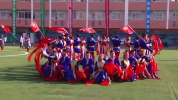 「モンゴルダンス体操」で新中国成立70周年を祝う 内モンゴル自治区