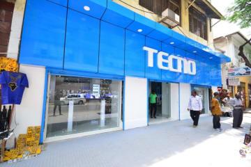 Transsion brand Techno's flagship store in Dodoma, Tanzania. (Image credit: Transsion)