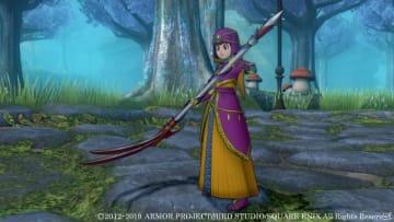 """デスマスターは、新バージョンで登場した""""鎌""""を手にして戦う。"""