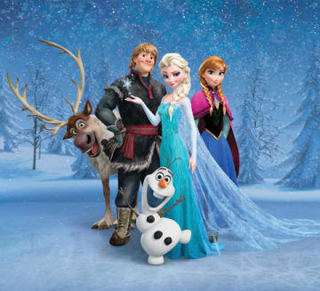 11月15日に放送される「アナと雪の女王」(C)2013 Disney. All Rights Reserved