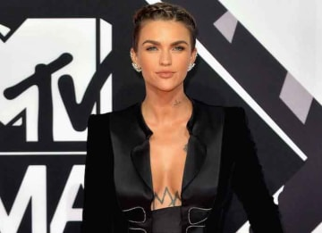 Ruby Rose attends the MTV EMAs