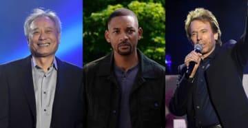 来日が決定したアン・リー監督(左)、ウィル・スミス(中央)、ジェリー・ブラッカイマー(右) - (C) 2019 PARAMOUNT PICTURES. ALL RIGHTS RESERVED.