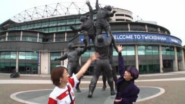 「ヒルナンデス!」に出演する(左から)滝菜月アナ、ブルゾンちえみさん(C)日本テレビ