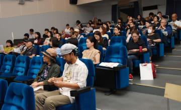 県内外から85人が詰め掛けた現代韓国映画祭=佐賀市のシアター・シエマ