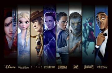数々の名作を生み出してきた8つのスタジオが一つに! - (c) 2019 Disney (c) 2019 Disney/Pixar (c) 2019 MARVEL (c) 2019 & TM Lucasfilm Ltd. (c) 2019 Twentieth Century Fox Film Corporation