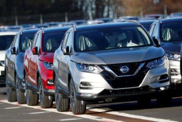 日産自動車のSUV「キャシュカイ」=2月、英サンダーランド(ロイター=共同)