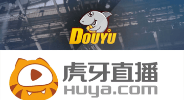 The logos of Douyu and Huya. (Image Credit: TechNode)