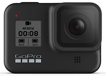手ぶれ補正機能がさらに強化された「GoPro HERO8 Black」