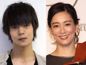 結婚を発表した窪田正孝さん(左)と水川あさみさん