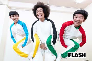 「オリンピック」(左からチロ、ゴン、グリ)