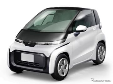 トヨタが開発中の超小型EV