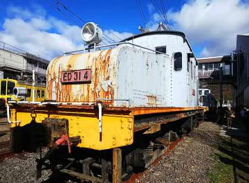 近江鉄道のED31形4号機=近江鉄道ED314保存活用プロジェクト提供