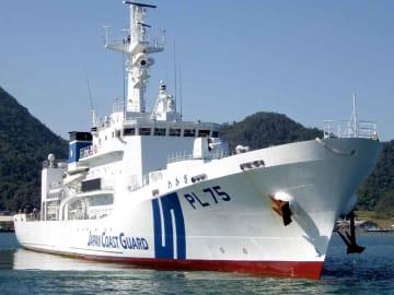 一般公開される巡視船「わかさ」