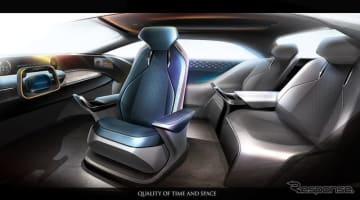 近未来の自動運転を想定したインテリアスペース MX191(Mobility eXperience)