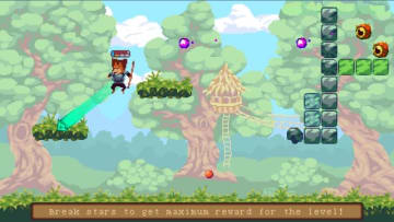 横画面ドット絵ブロック崩しACT『Arkan: The dog adventurer』Steam配信開始―犬の魔術師が大冒険