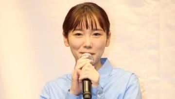 フットケア商品「足リラシート」の新CM発表会に登場した飯豊まりえさん