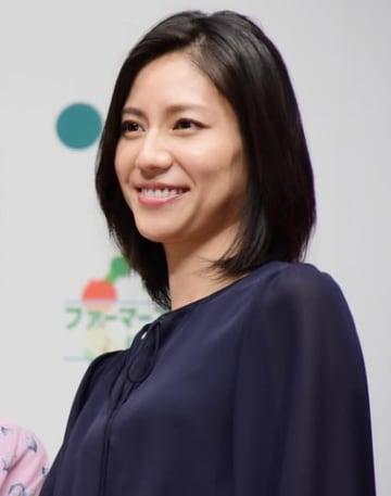 JAグループの「直売所(ファーマーズマーケット)の日」のPRイベントに出席した松下奈緒さん