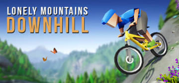 ローポリ調自転車レース『Lonely Mountains: Downhill』現地時間10月23日発売決定!―自分次第のルートでスリリングな山下り