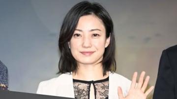 映画「ジェミニマン」の公開アフレコイベントに登場した菅野美穂さん