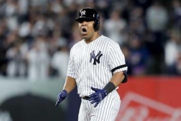 ヤンキースのエドウィン・エンカーナシオン【写真:Getty Images】
