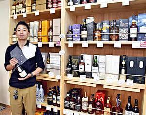「ウイスキーの奥深さを感じてほしい」と話す大竹さん